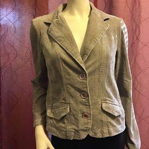 Sonoma Women Jacket Corduroy Size M